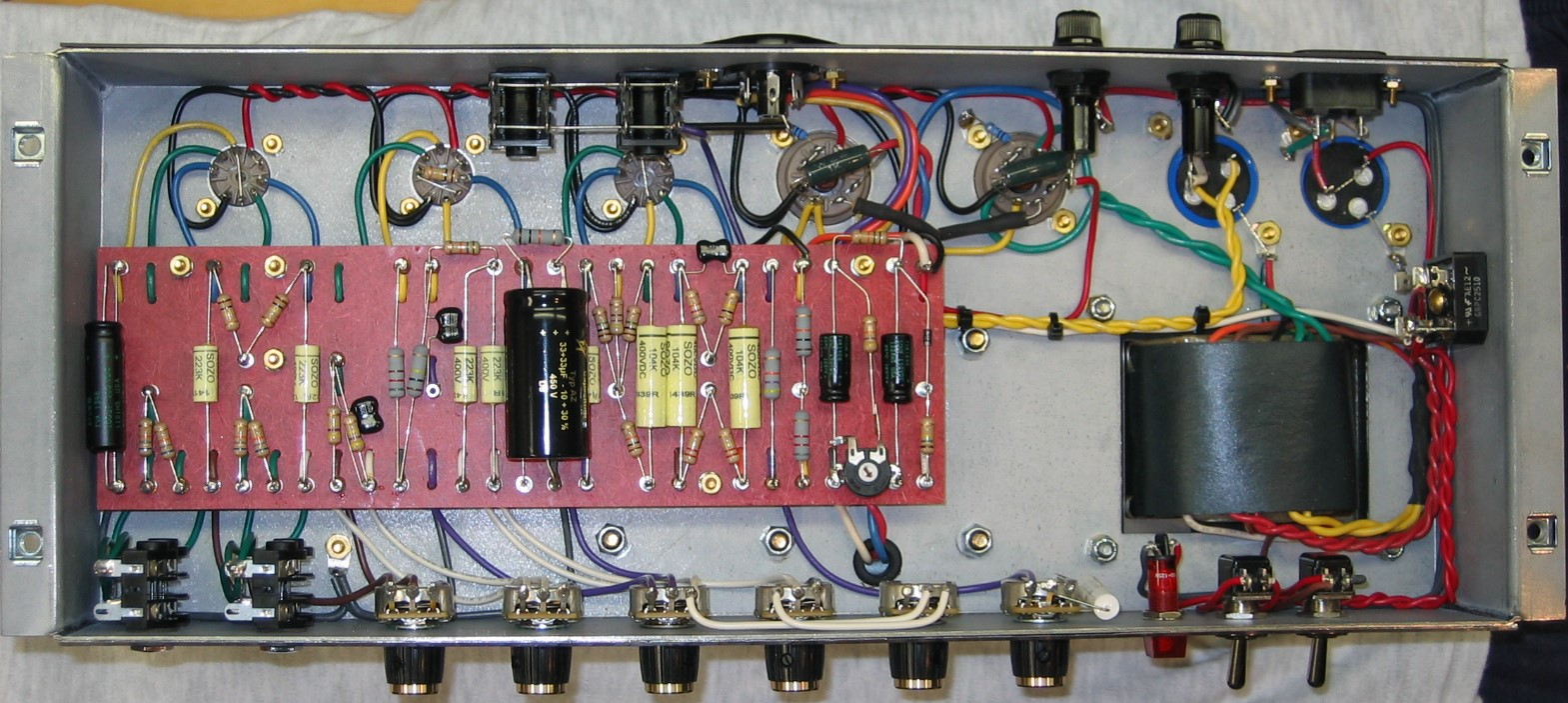 sold marshall 50 watt metro style turret boards for diy amp rh thegearpage net LED Circuit Boards Perf Board