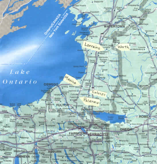 Map Of Upstate N Y Pictures To Pin On Pinterest  PinsDaddy